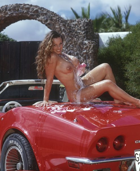 Naked girl on corvette can recommend
