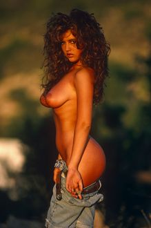 Gail McKenna topless outdoors